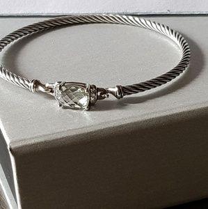 David Yurman Wheaton Prasiolite Bracelet